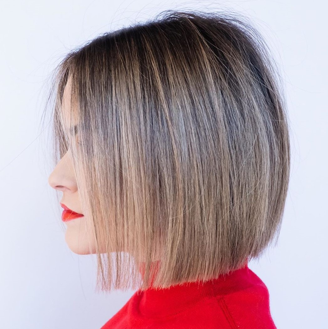 Short Blunt Bob for Fine Hair