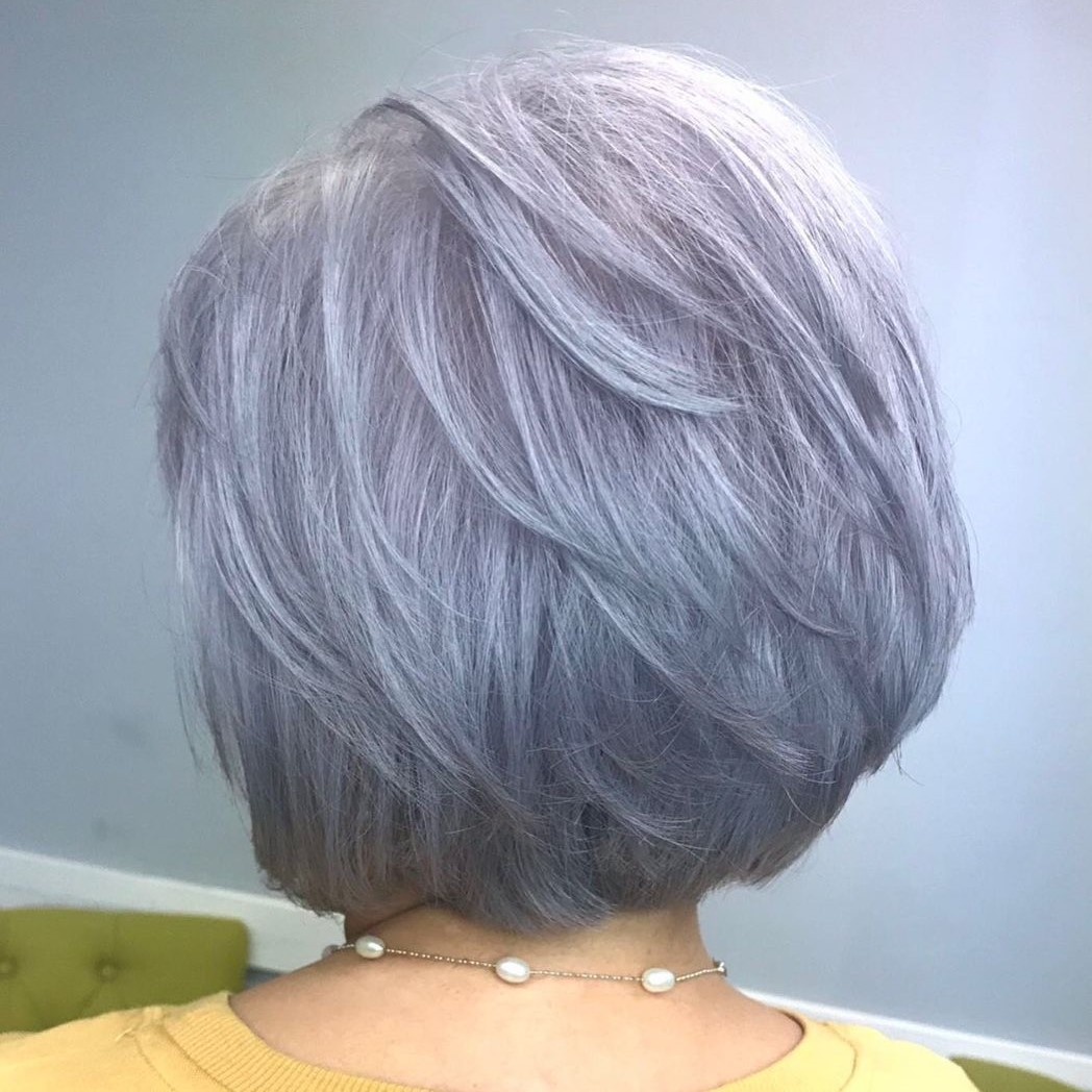 Lavender Silver Hair Color