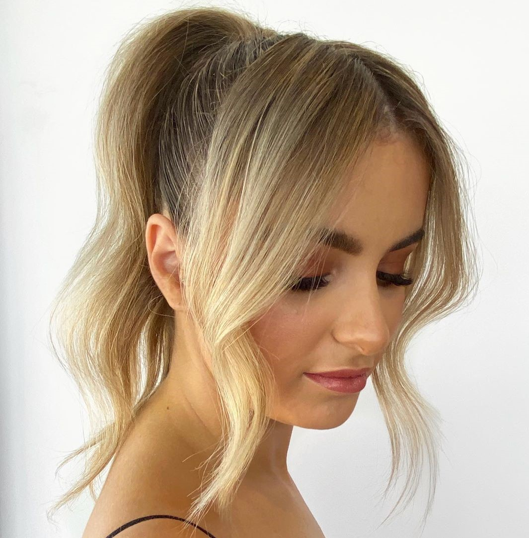 High Ponytail for Fine Hair