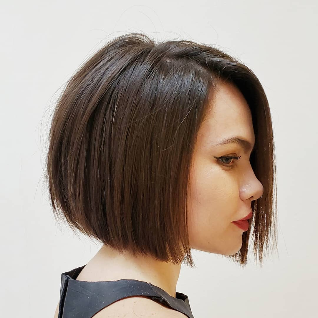 Short Blunt Bob for Thin Hair