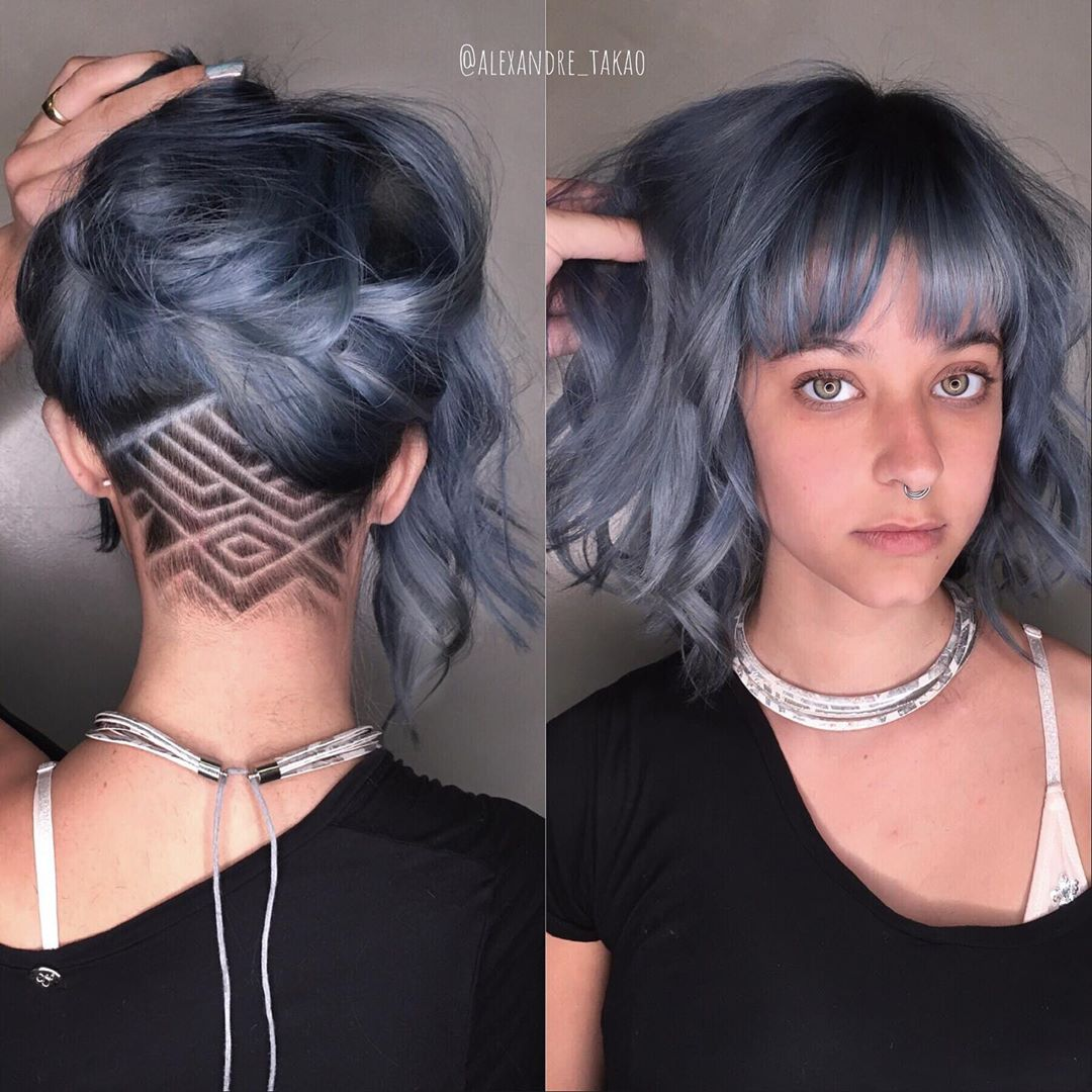 Undercut Lob with Shaved Design