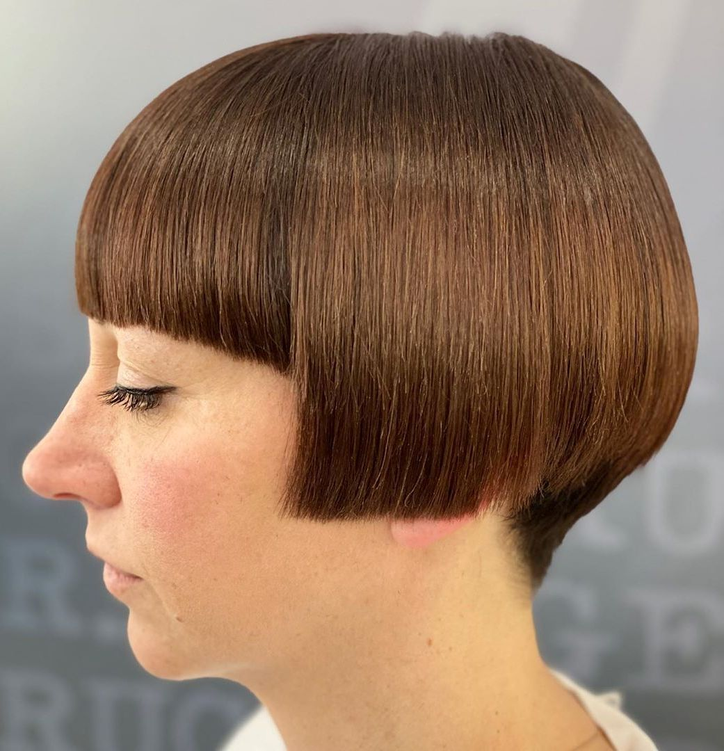 Short Blunt Bob with Undercut