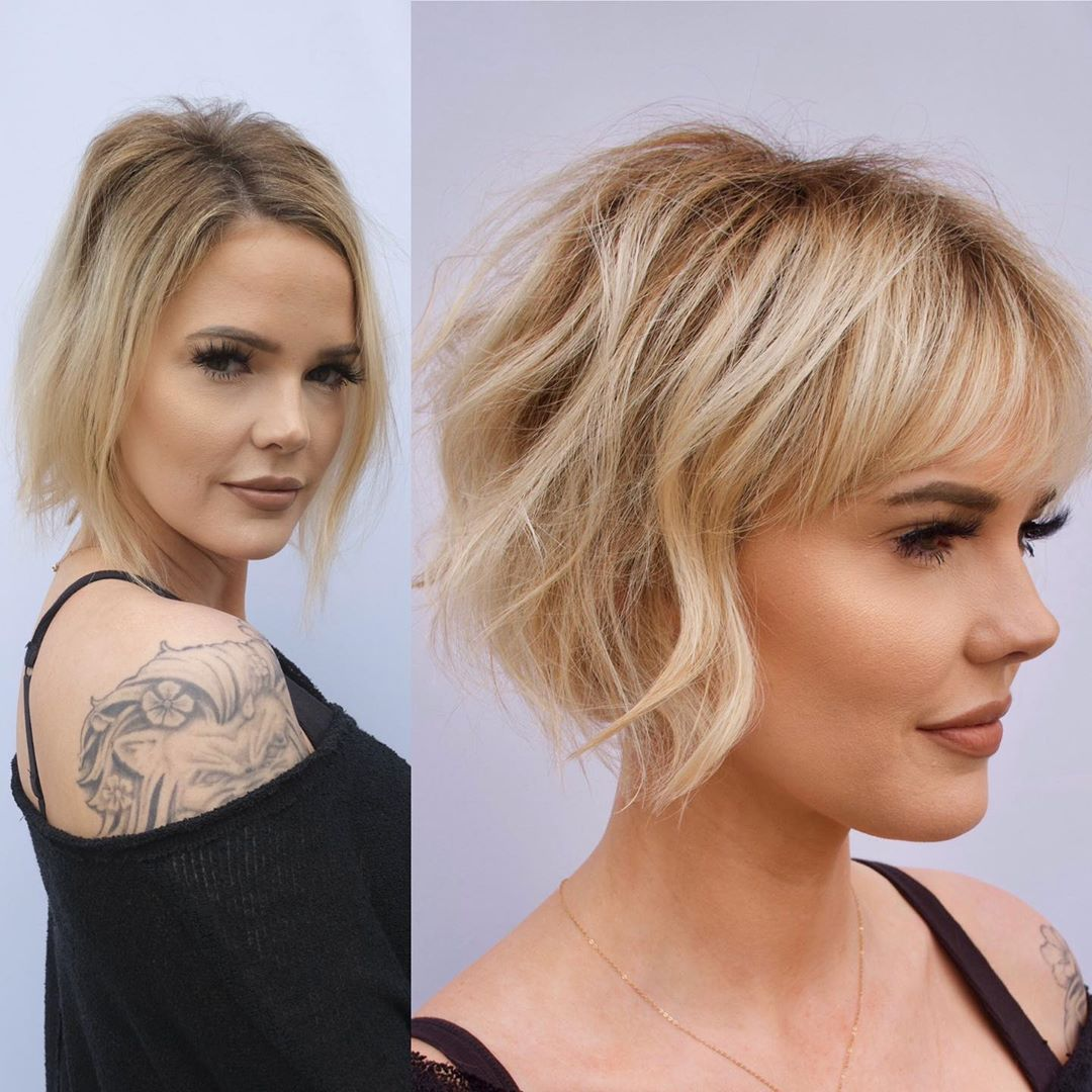 Bob Haircut for Fine Thin Hair