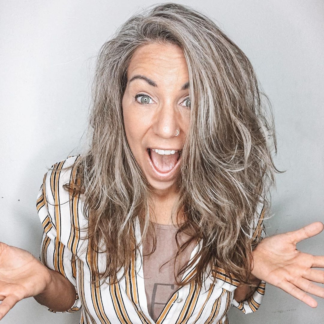 Transitioning to Gray Hair 101, NEW Ways to Go Gray in ...
