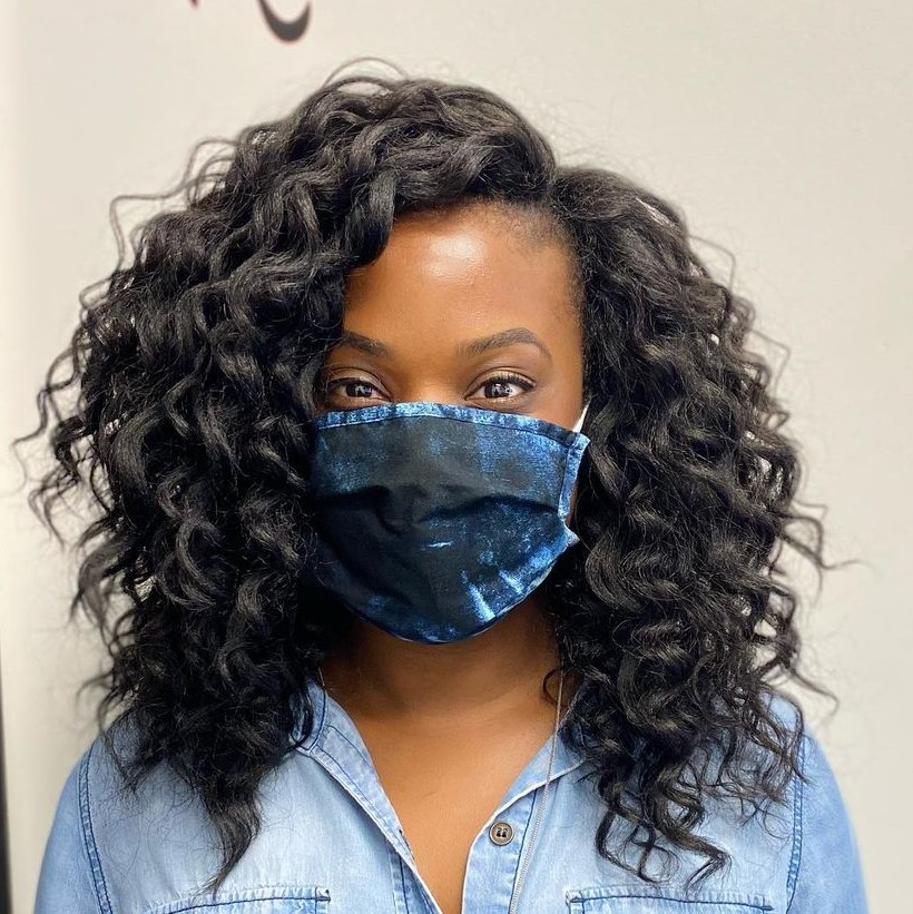 Twist-Out Crochet Hairstyle
