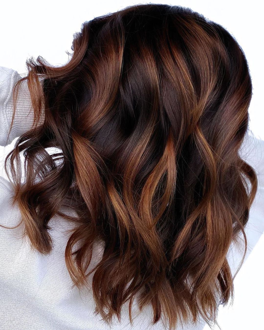 trendy brown hair colors