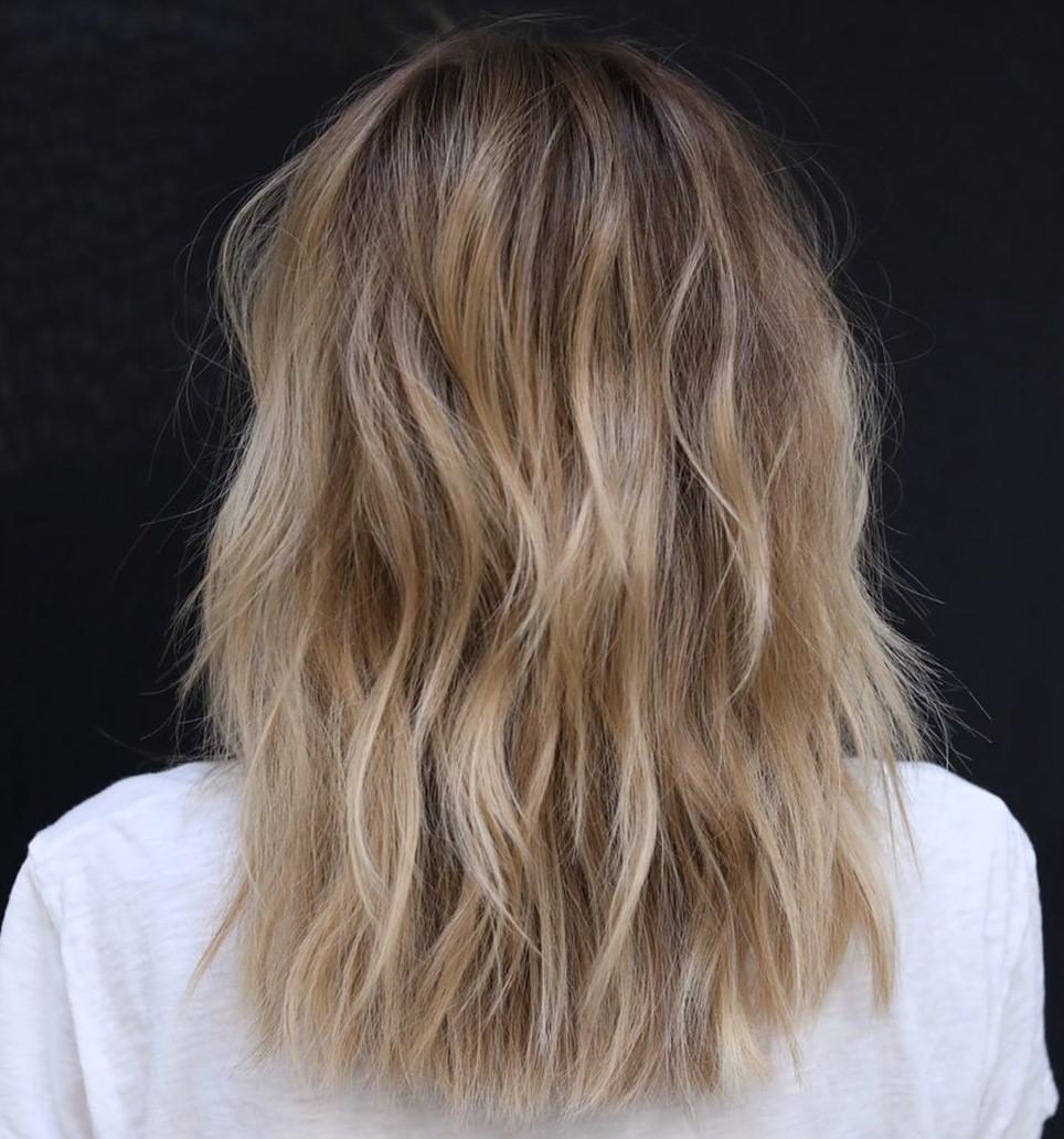 Sun-Kissed Beach Blonde Hair Color