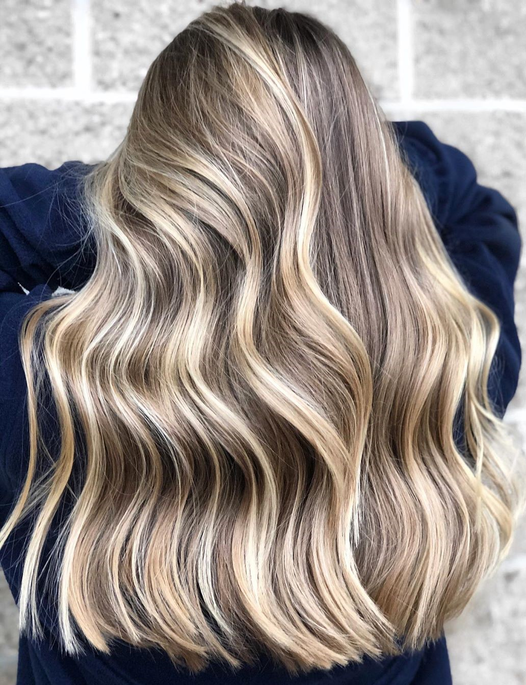 Brown Blonde Hair with Babylights