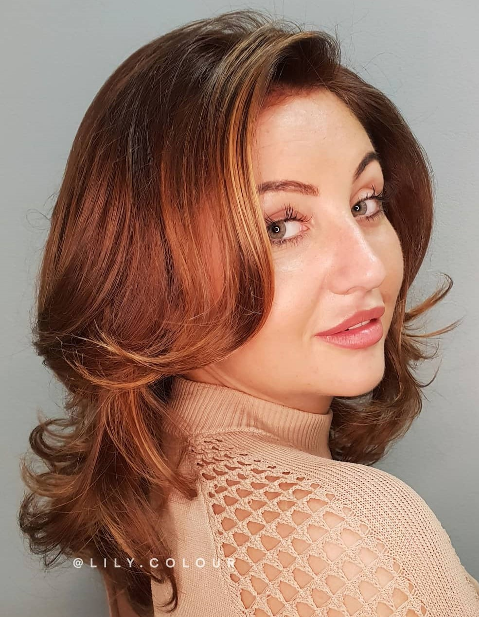 Auburn Copper Hair Color