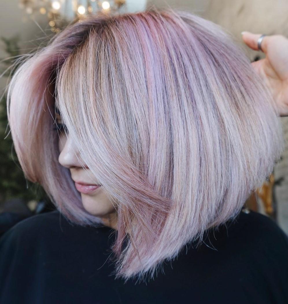 Pinky Blonde Hair