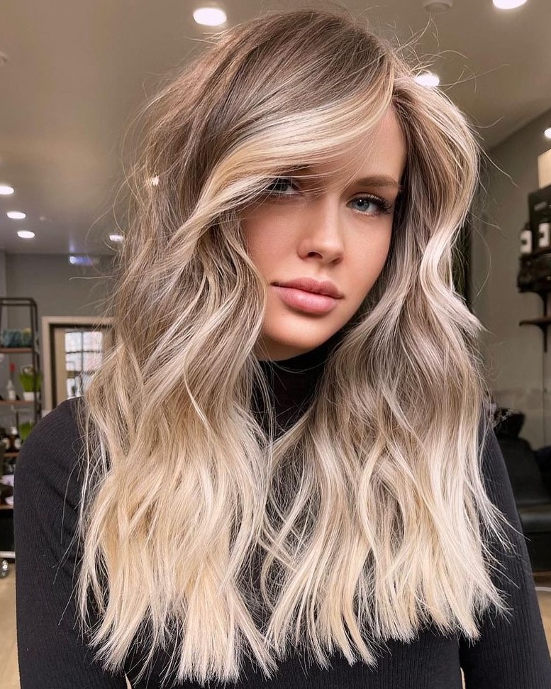 Brown and Blonde Hair Idea
