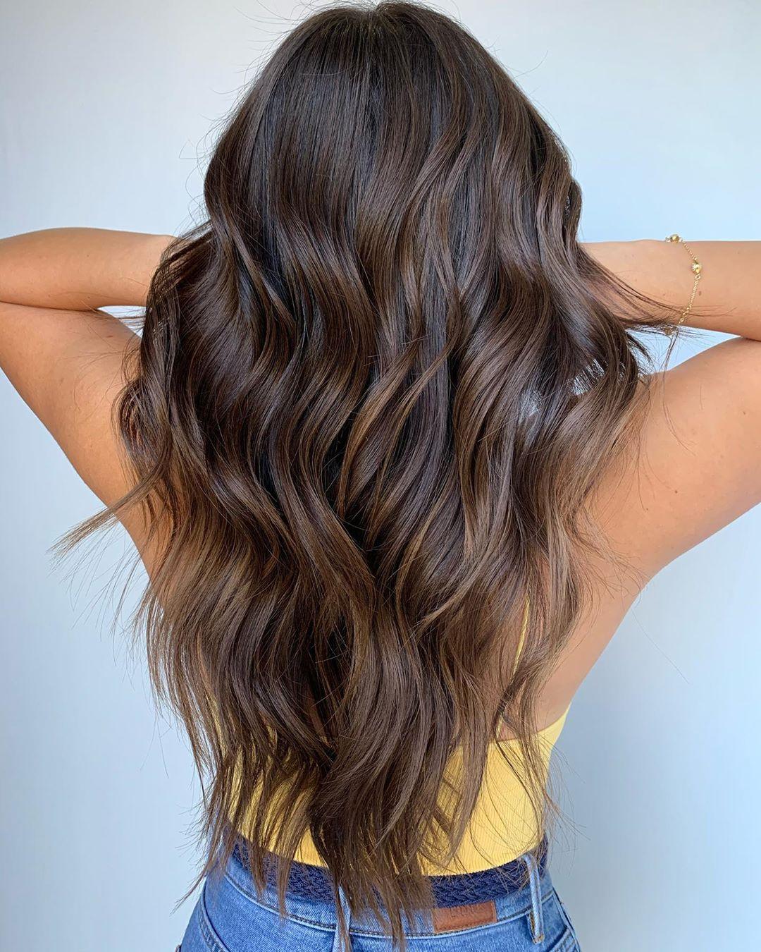 Bronze Balayage for Brown Hair