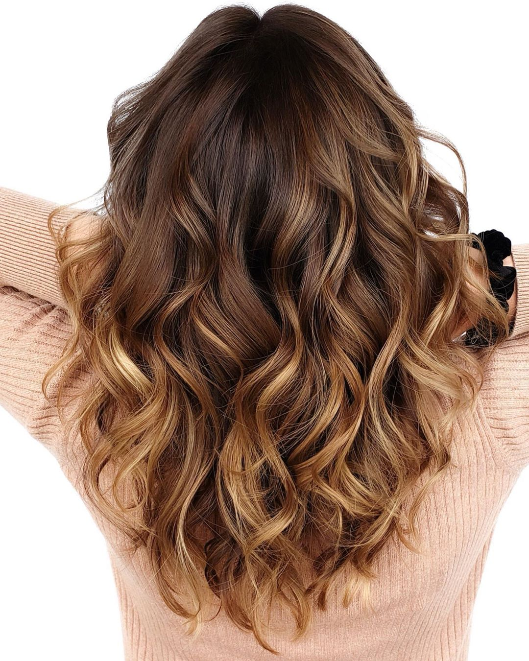 Caramel Bronde Balayage Highlights