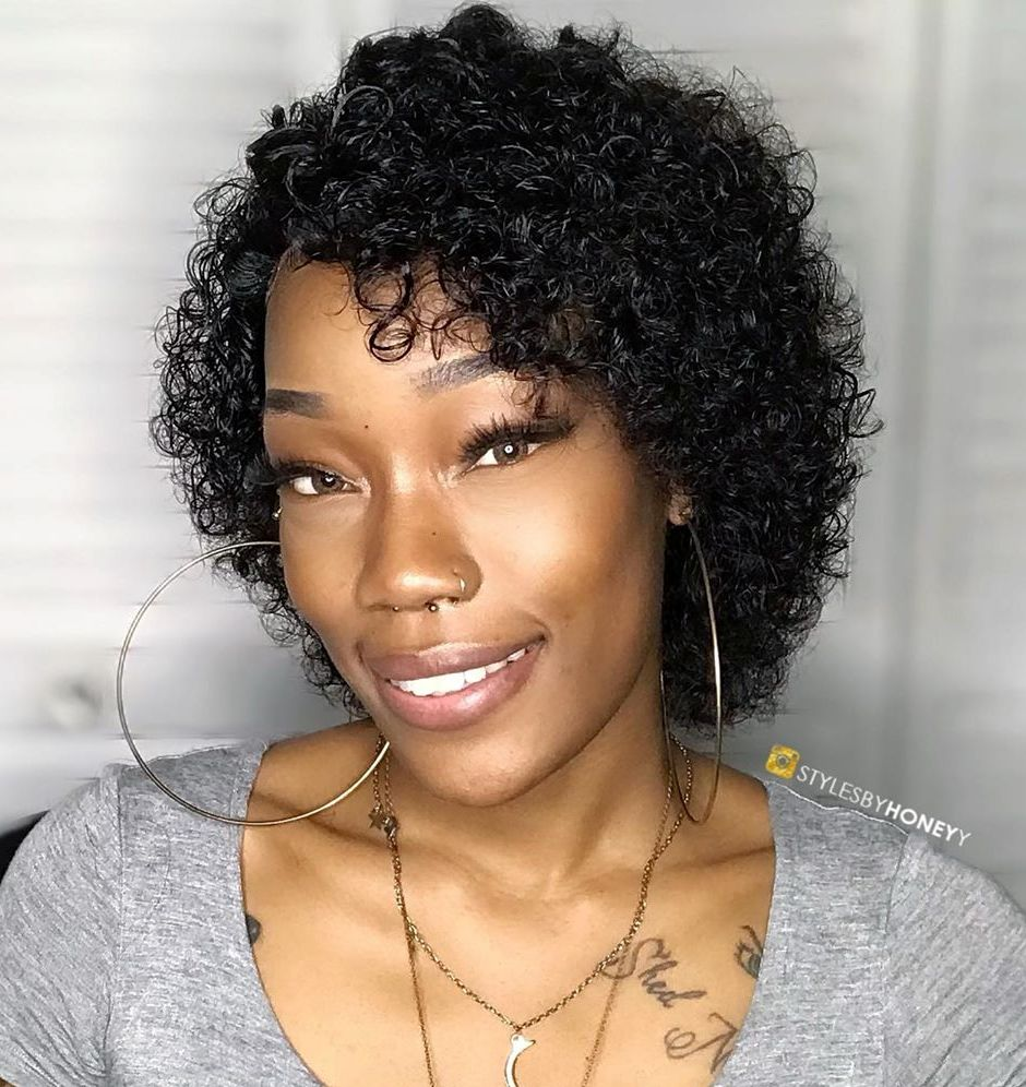 15 Best Haircuts and Hairstyles for Short Curly Hair in 15 ...