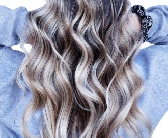 Silver Highlights for Bronde Hair