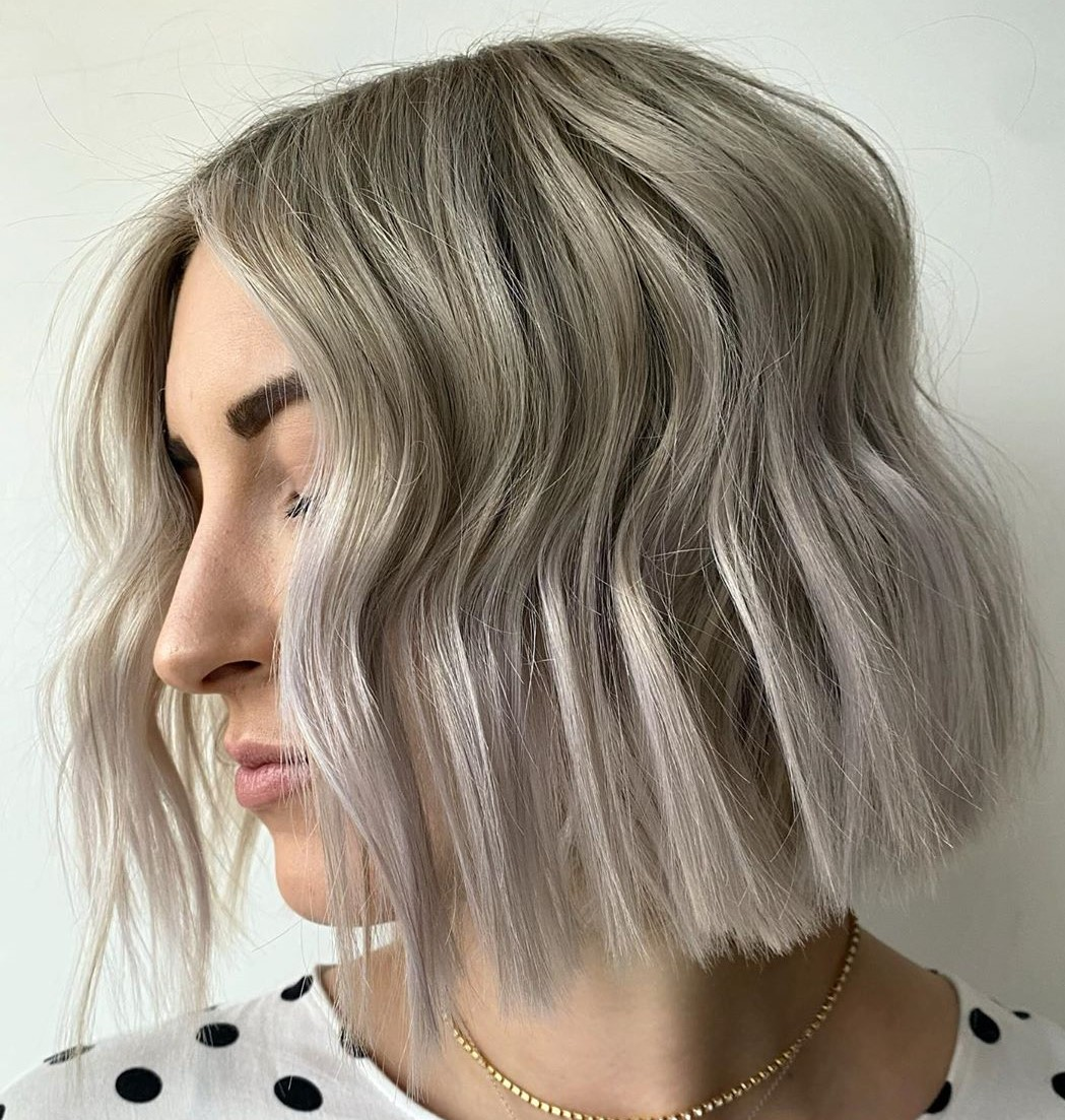 Ash Hair with Silver Ends