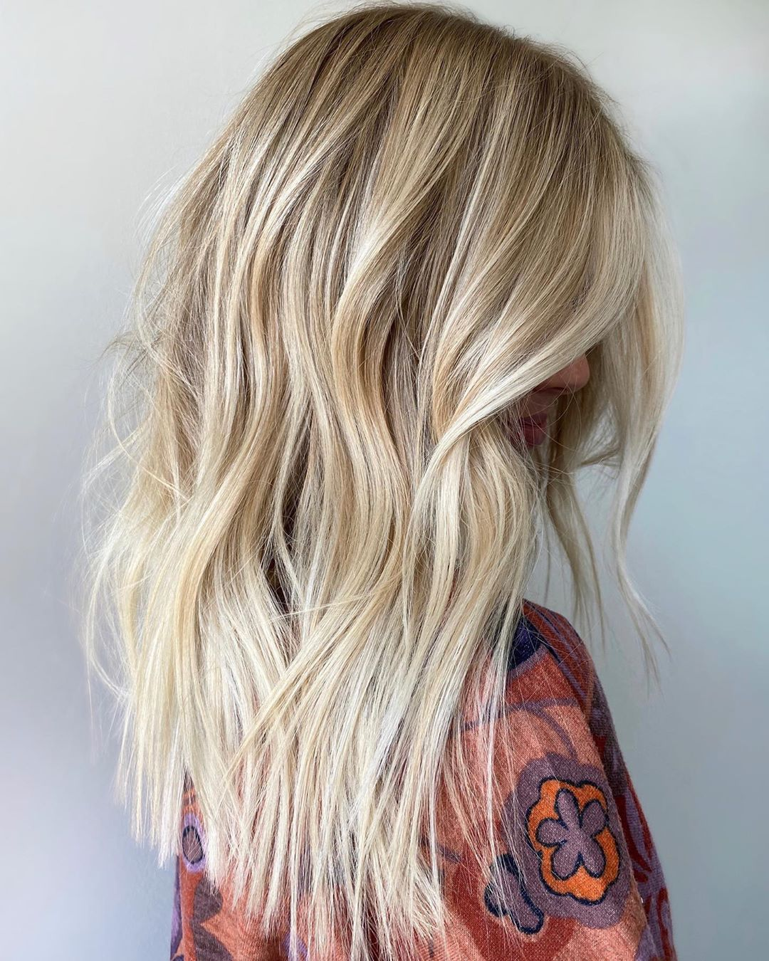Light Blonde Balayage Hair
