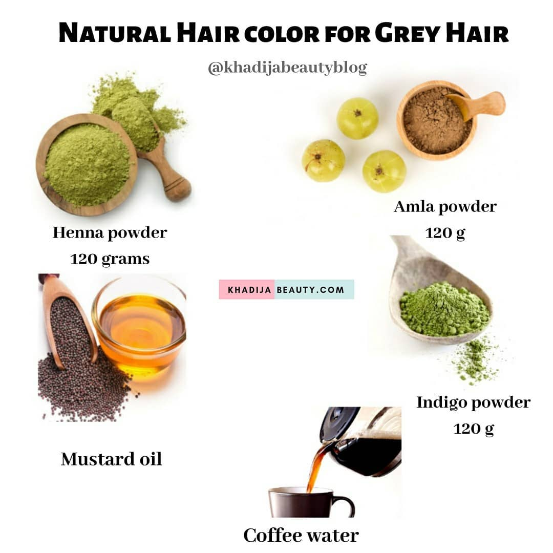 How to Dye Gray Hair at Home Naturally