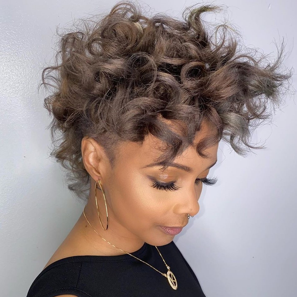 12 Top Curly Pixie Cut Ideas to Choose in 12 - Hair Adviser