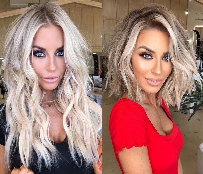 Long and Short Dirty Blonde Hair