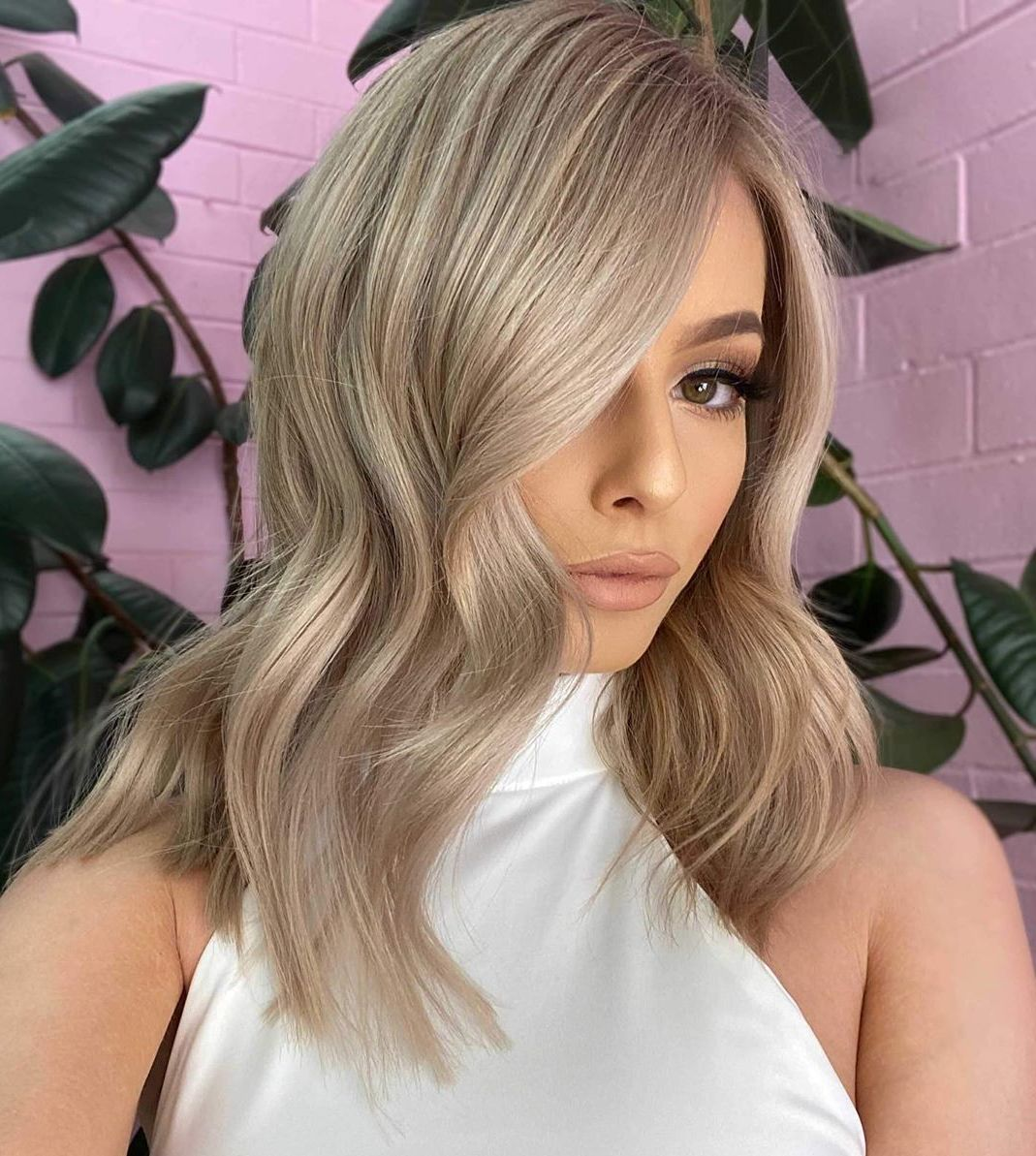 Neutral Ash Blonde Hair Color