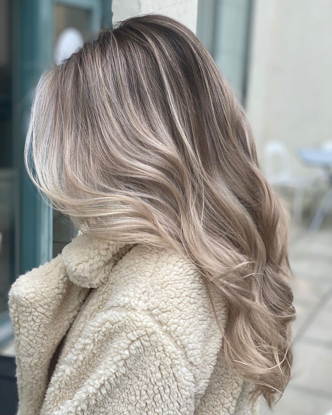 Soft Cool-Toned Dirty Blonde Hair