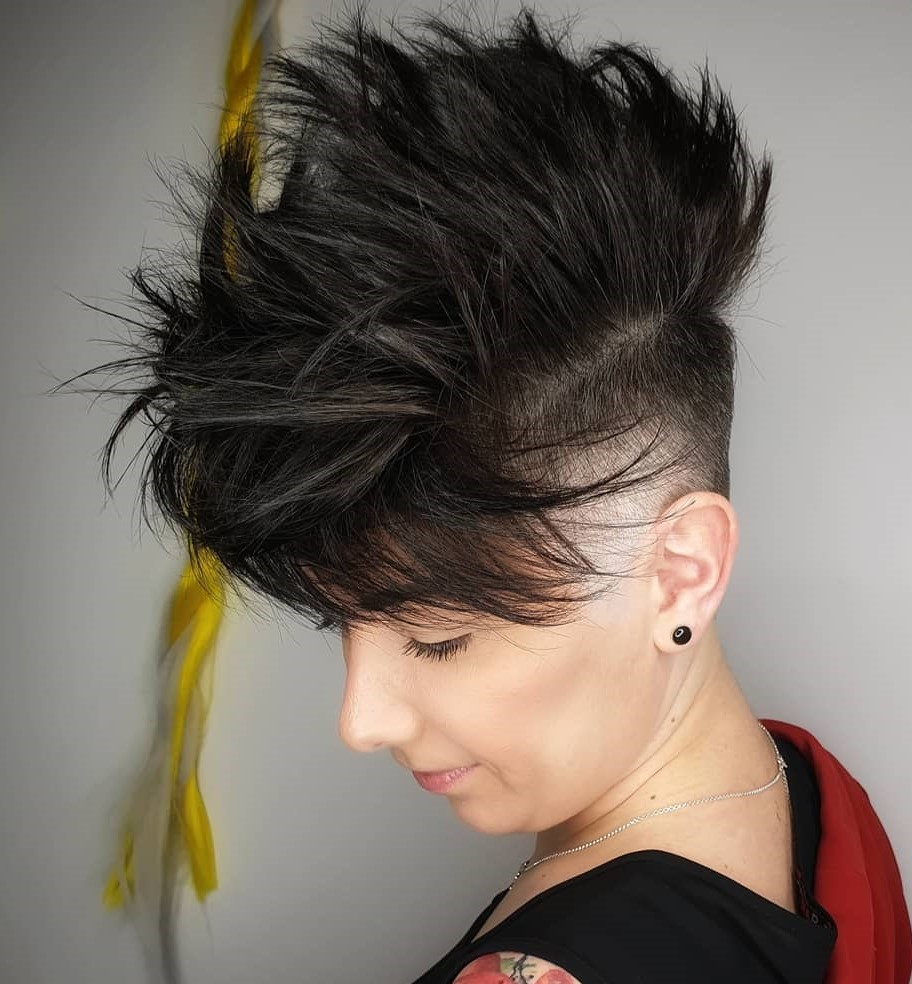 Cool Edgy High Undercut