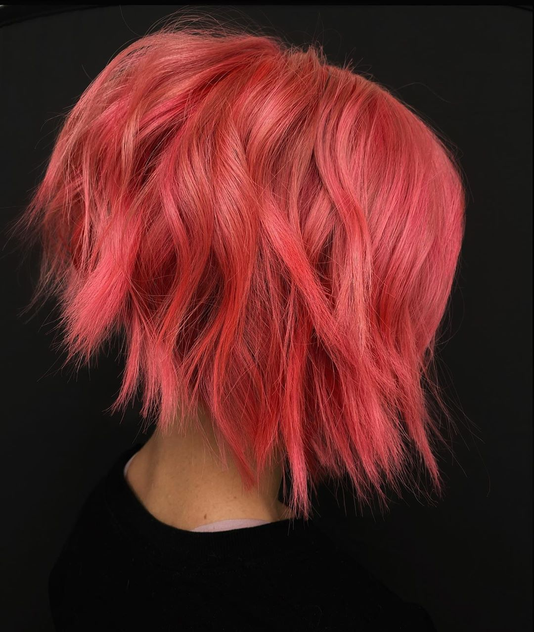 Neon Hair Color Trend for Fall