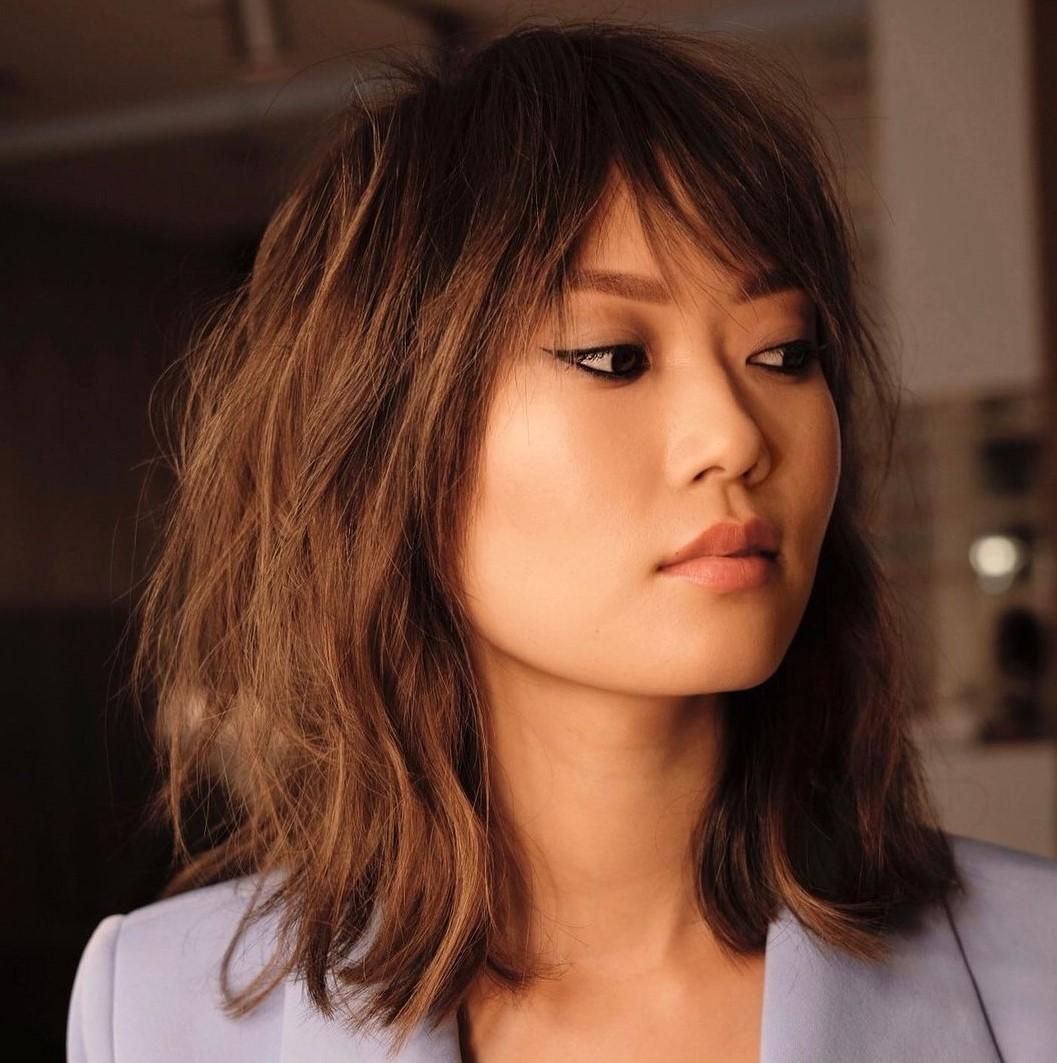 Trendy Medium-Length Hair