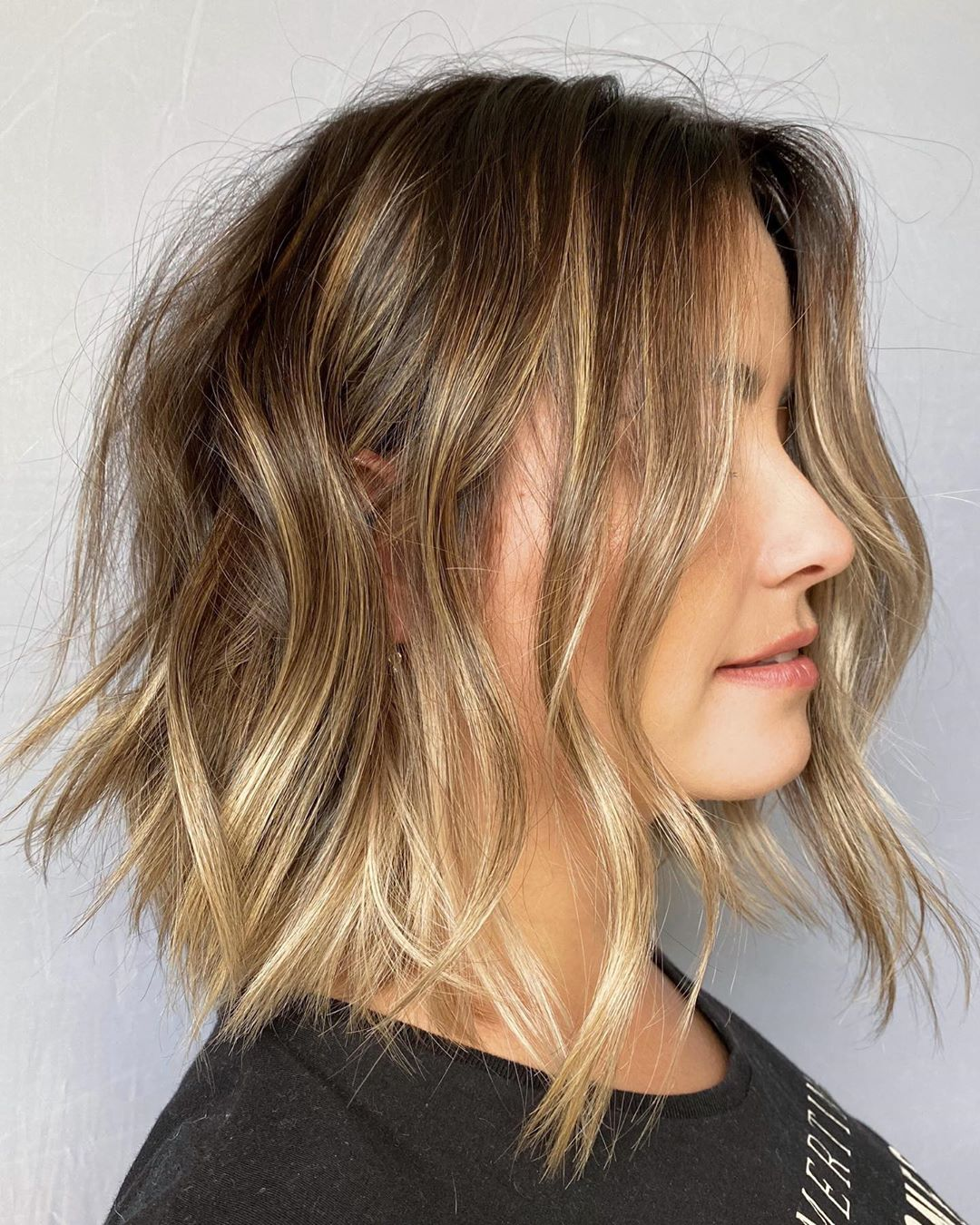 Bronde Balayage Hair for Fall