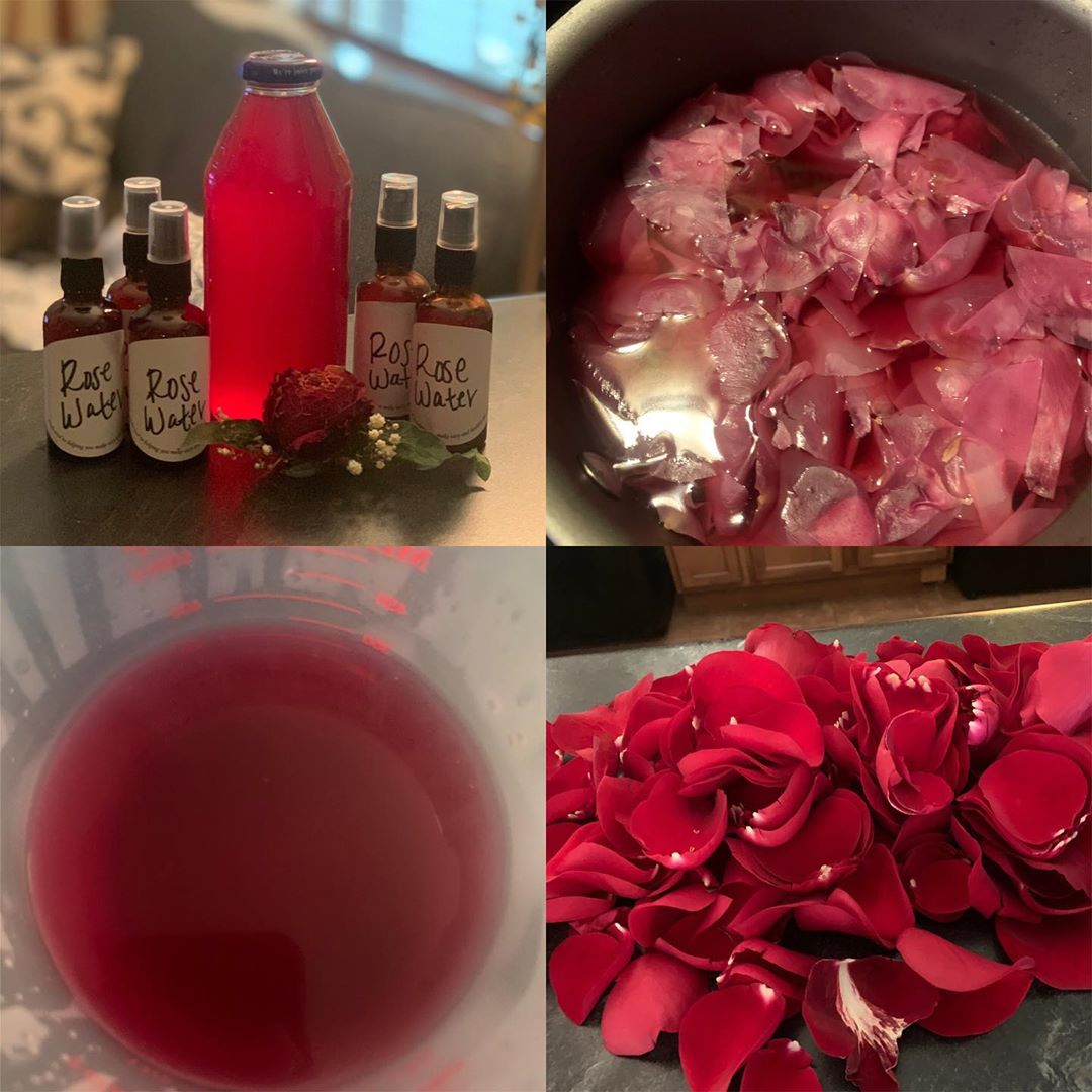 Rose Water for hair Benefits and Uses