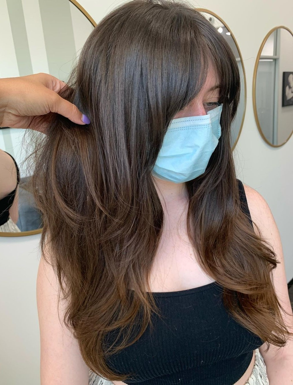 Cute Long Hair with Layers and Bangs