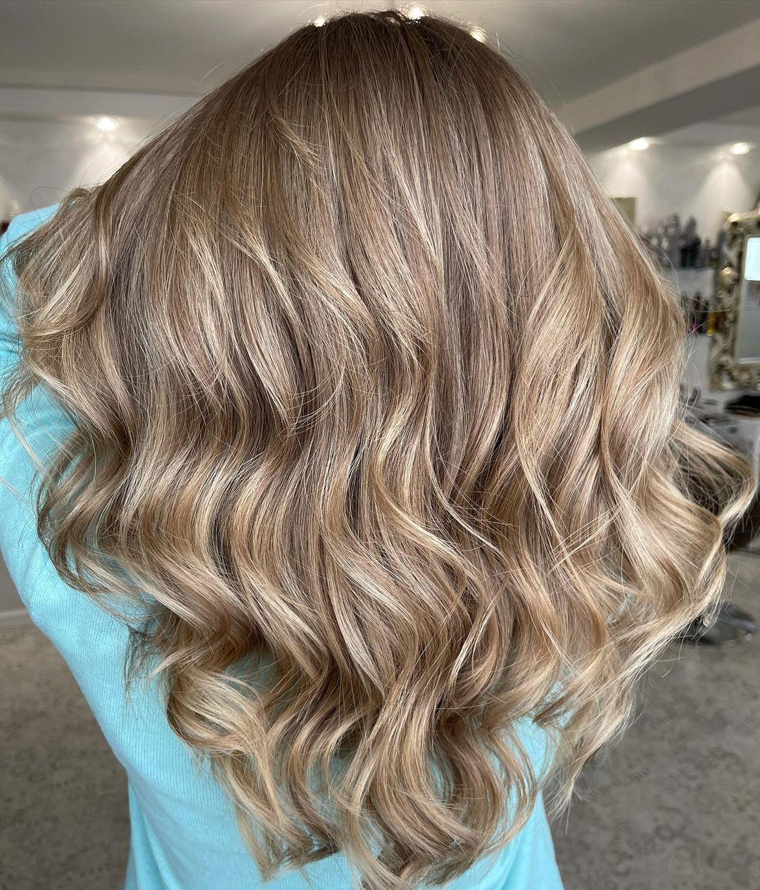 Stunning Dishwater Blonde Hair