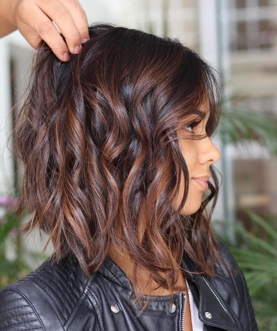 Chocolate Hair with Mahogany Highlights