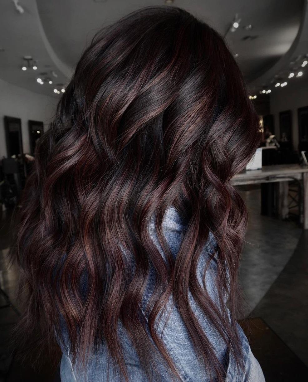 Mocha Balayage for Dark Brown Hair
