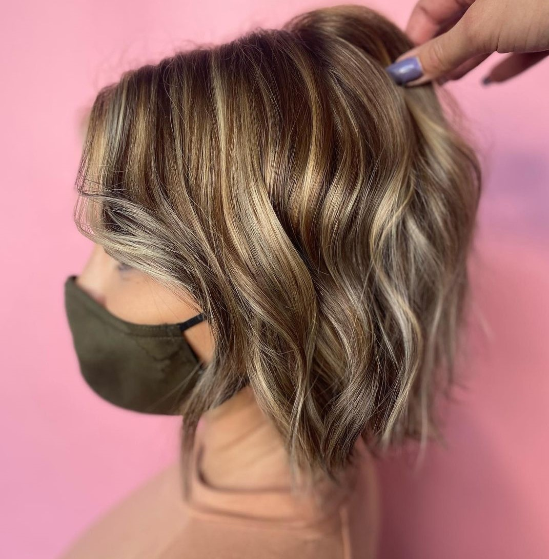 Highlights and Lowlights for Bronde Hair