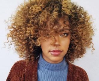 Curly Bob Deva Cut