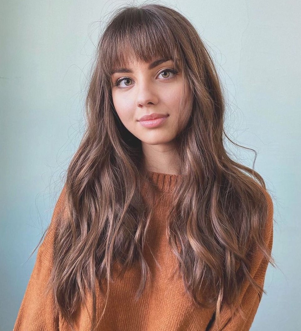 Wispy Bangs with Long Side Pieces