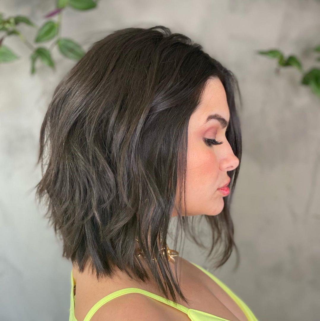 Medium-Short Cut for Fine Hair