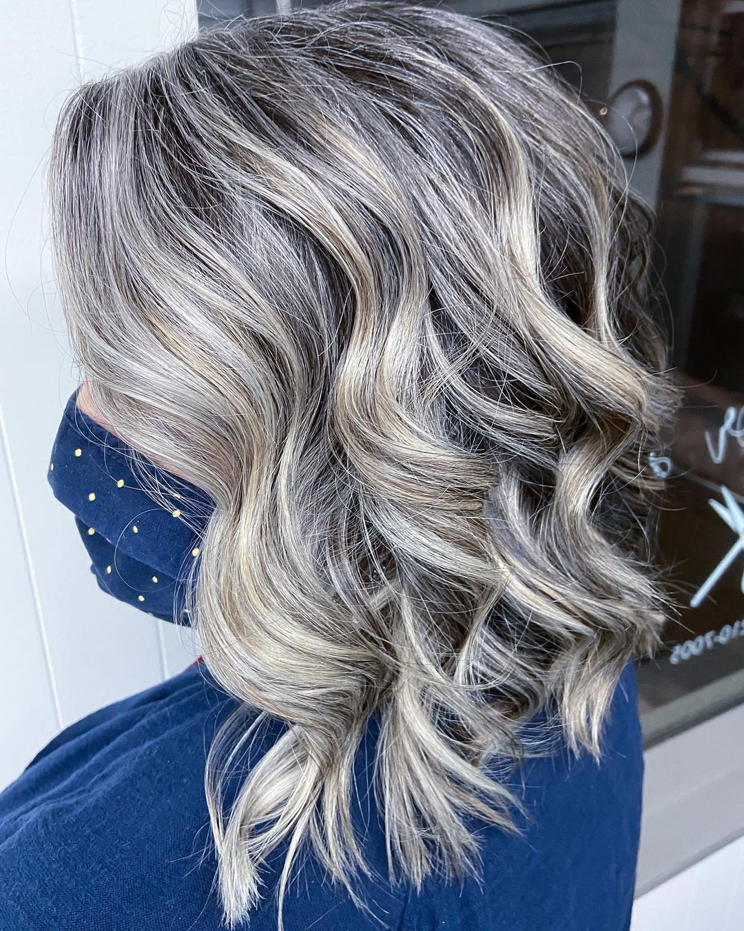 Transition to Gray with Highlights and Lowlights