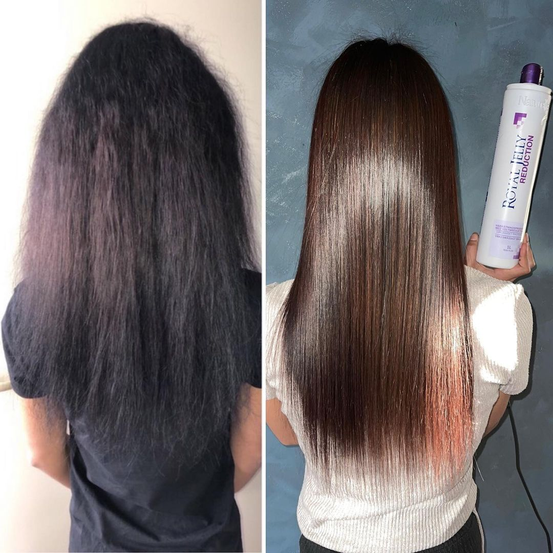 Protein Treatment for Hair Before After Photo