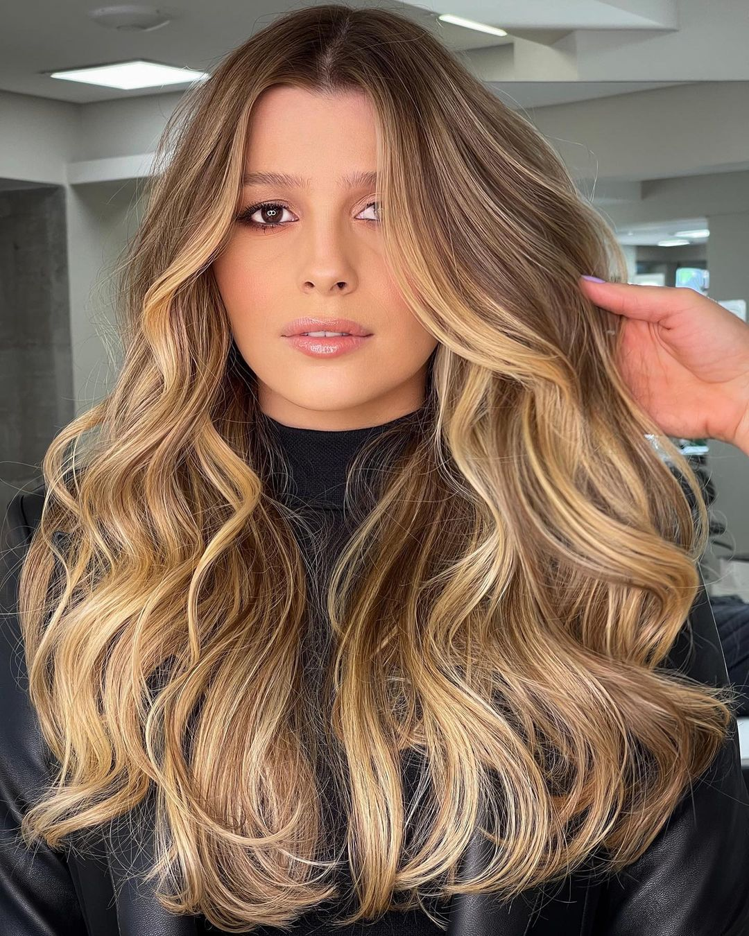 Brown and Blonde Balayage Hair Colors