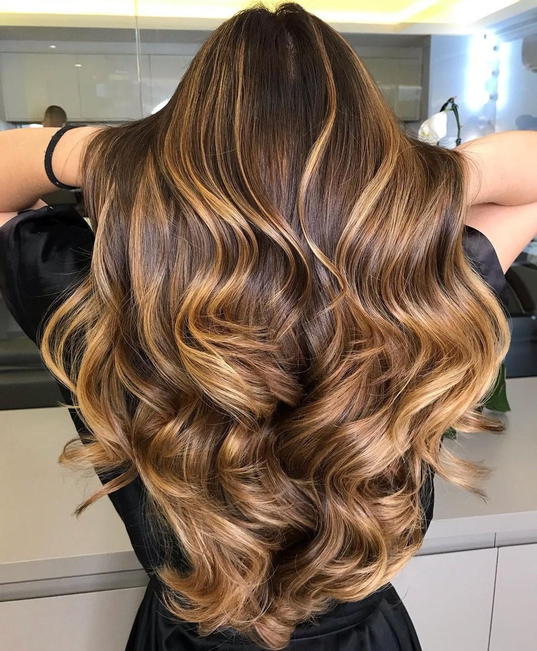 Sun-Kissed Honey Golden Brown Waves