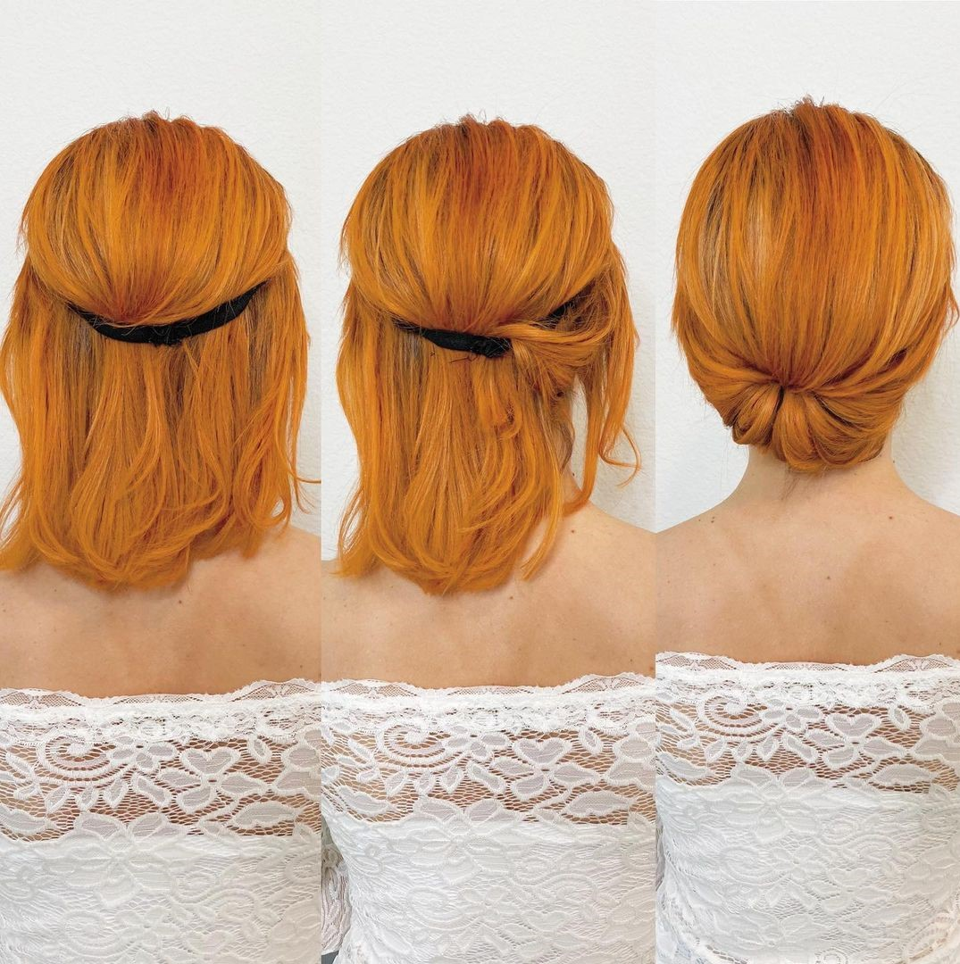 Vintage Gibson Tuck Updo