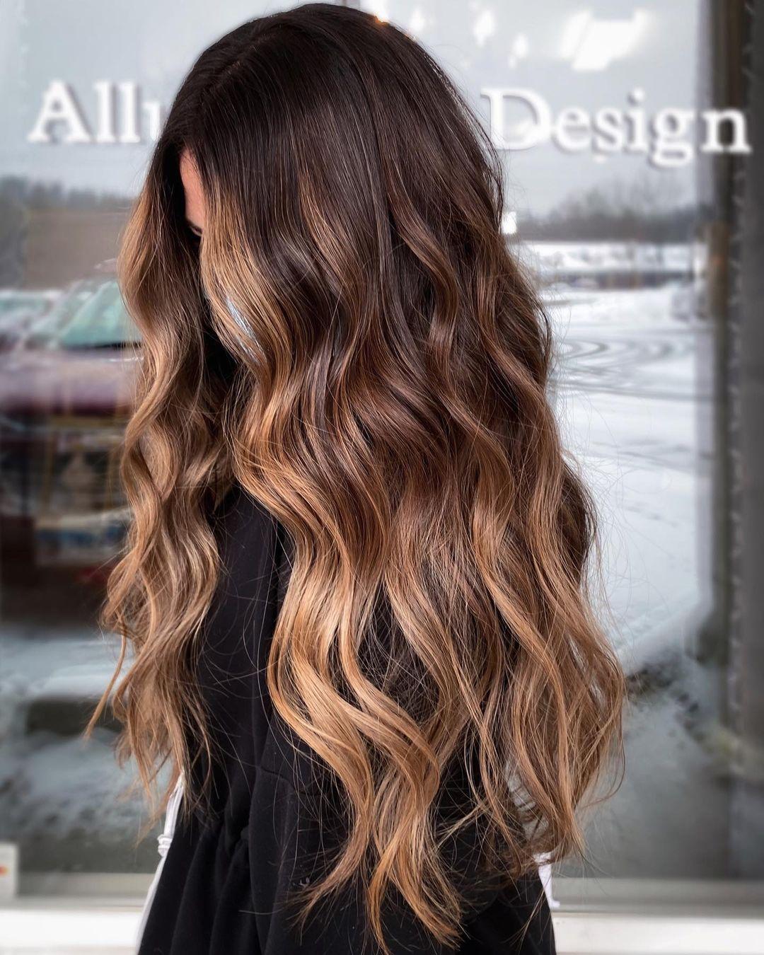 Cute Trendy Brown Hair Color