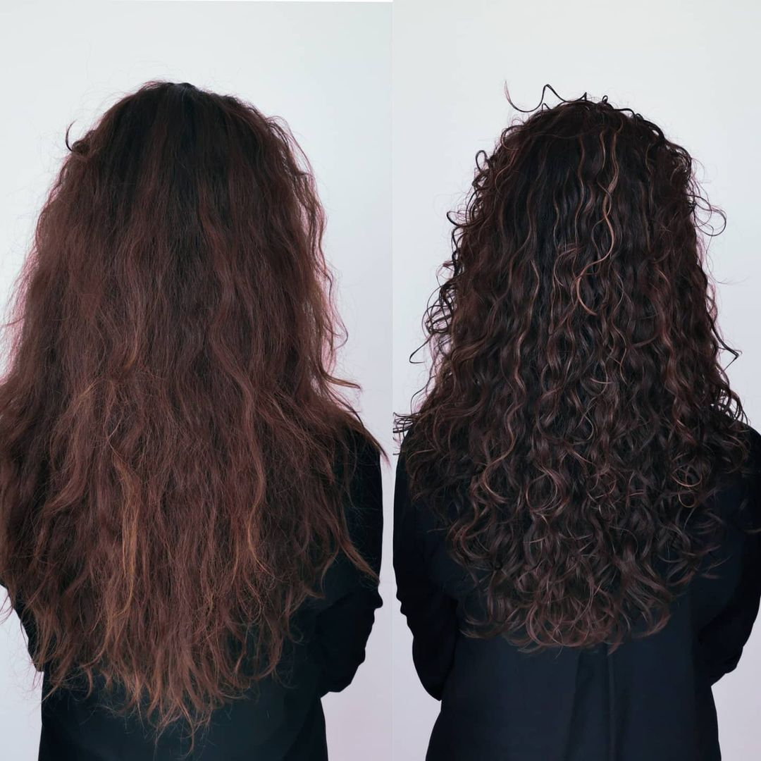 Curly Girl Method Results Photos