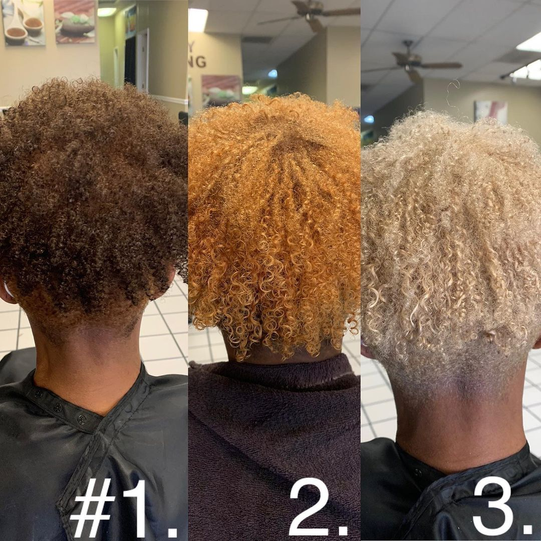 How to Repair Bleached Curly Hair