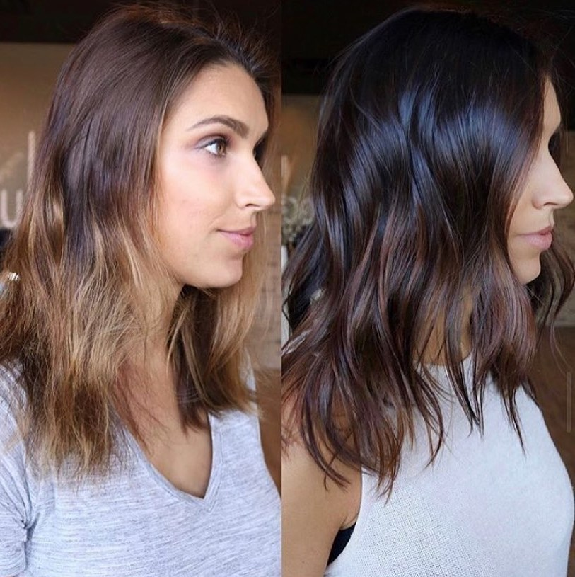 Before and After Pictures of Partial Highlights