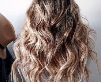 Amazing Beach Waves Hairstyle