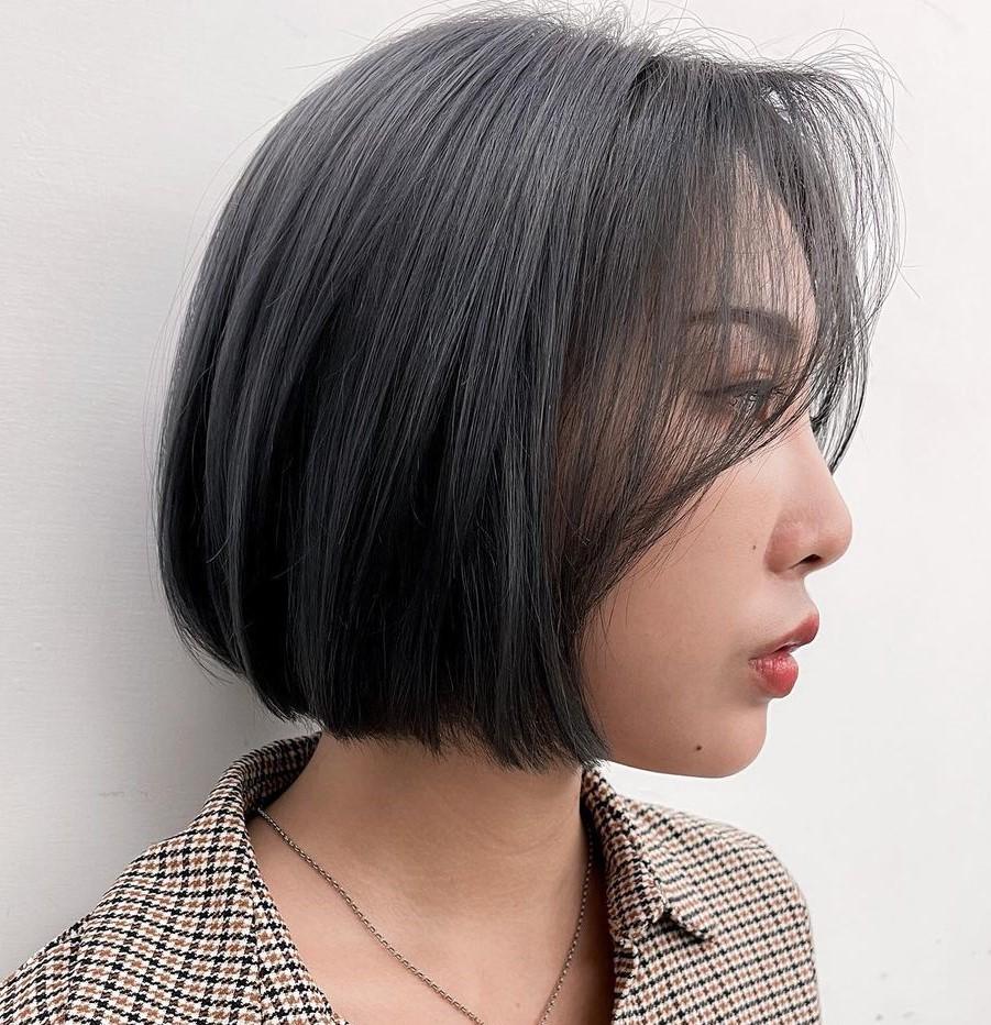 Short Korean Bob Hairstyle